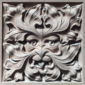 Green Man in John Rylands Library, Manchester